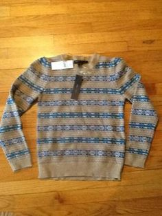 Not your mother's Fair Isle sweater. Marc Jacobs sweater