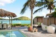 VILLA JADE 3 VILLA JADE 3: suite familiale de 2 chambres et piscine privative en bord de mer / sur plage - Location Villa de standing #SaintMartin #CuldeSac