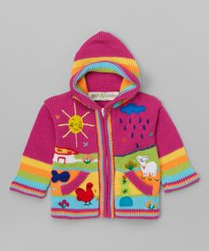 Another great find on #zulily! Posh Pink Zip-Up Hoodie - Infant, Toddler & Girls #zulilyfinds