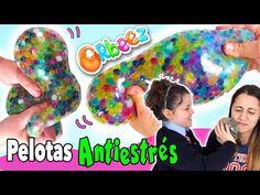 Cómo hacer PELOTAS ANTIESTRES de Orbeez o canicas de agua - YouTube