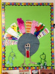 Preschool thanksgiving bulletin board