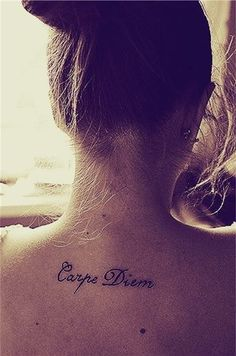 Carpe Diem Tattoos 5 - Below Neck