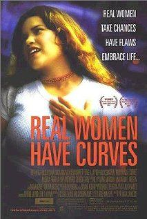 """Real Women Have Curves."" A delightful film about a Latina teenager growing up in East Los Angeles. Rated PG-13.  This film is recommended for groups attending our South Los Angeles site.  http://www.imdb.com/title/tt0296166/"