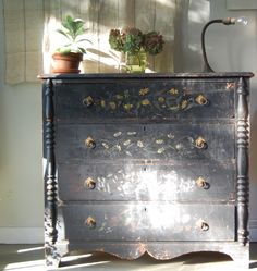 another great black dresser . . .