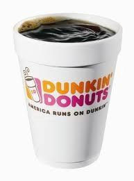 Blueberry/Caramel/Cinnamon/Coconut Coffee @ Dunkin Donuts (small)-10 cals, 5g net carbs.