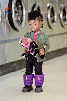Cute Afro Hairstyles For Black Girls Natural Hairstyles For Kids, Little Girl Hairstyles, Natural Hair Styles, Black Baby Hairstyles, African American Babies, American Baby, Braids For Kids, Girls Braids, Black Is Beautiful