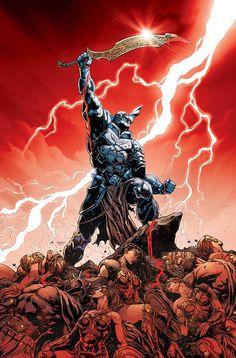 Batman: The Merciless - Dark Knights: Metal da DC Batman Metal, Batman Dark, Batman The Dark Knight, Comic Book Characters, Comic Character, Comic Books Art, Comic Art, Arte Dc Comics, Anime Comics
