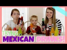 AllAroundAudrey- Americans Try Mexican Drinks! - YouTube