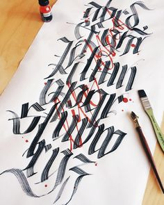 Alphabet / Life blood. __________________________________ #makedaily…