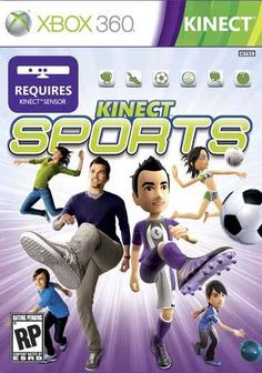 Microsoft Game Studios Xbox 360 - Kinect Sports, Brown