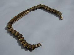 Antikes Uhrenarmband°° -ROLLED GOLD PP.LP °°-13,5 cm --rare golddouble--