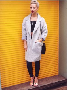 Love this Primark coat / Autumn / Winter / 2014 / Style / Blogger outfit inspiration