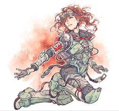 Game Character Design, Character Art, Rainbow Six Siege Anime, Apex 2, Legend Drawing, Princesa Zelda, Legend Images, Arte Cyberpunk, Cute Anime Pics