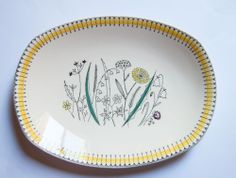 Stavangerflint Norway,  Tiril,  Large Serving Platter $95