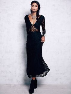 Free People Lace Maxi, $300.00