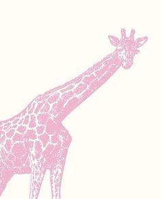 Pink Safari Giraffe Free Printable Giraffe Bedroom, Giraffe Decor, Pink Giraffe, Elephant Nursery, Giraffe Party, Safari Party, Safari Nursery, Girl Nursery, Fantasy Bedroom