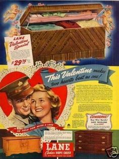 Vintage Household Ads of the 1940s (Page 3). I have this hope chest. My mother gave me hers!