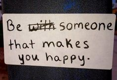 Do you make yourself happy?