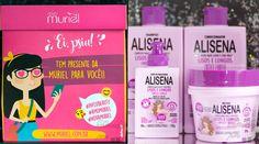 CHEGOU POR AQUI - A Muriel acabou de enviar para a Fascínio uma super caixinha com a sua nova linha Alisena. Cabelos mais lisos, sem frizz e que faz crescer cabelo! Amei? Imagina! Em breve no blog! www.fascinioporesmaltes.com