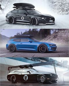 So if someone could create me an AWD hatchback mustang that'd be great  by lazixmadonna