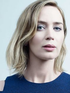 """""""Emily Blunt photographed by Peter Hapak for """"TIME"""" at The Crosby Street Hotel in New York City, on Aug Emily Blunt, Prettiest Actresses, Beautiful Actresses, Blunt Hair, John Krasinski, Mandy Moore, Best Portraits, Pretty Woman, Celebs"""