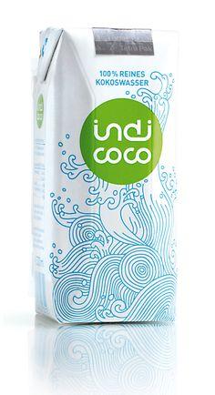 Das Trendgetränk im Sommer und beim Sport: indi coco - 100 % reines Kokoswasser Tetra Pak, Coconut Water, Superfood, Drinks, Sport, Summer, Drinking, Agua De Coco, Beverages