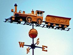 Weathervane at Quechee Gorge Village, home of the Vermont Toy and Train Museum.