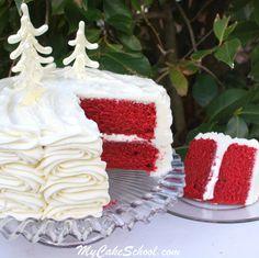 Red Velvet Cake {Scratch Recipe}