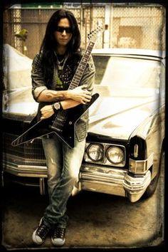 Ozzy Osbourne/Firewind Guitarist Gus G. Announces Debut Solo Album, 'I Am the Fire' | Guitar World Ozzy Osbourne Guitarist, Gus G, Esp Guitars, Interview, Les Artisans, Find Music, Independent Music, Black Sabbath, Album