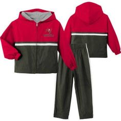 NFL Tampa Bay Buccaneers Toddler Windsuit, Toddler Boy's, Size: 4 Years, Brown