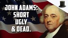 US President John Adams Adams participated in what may have been the nastiest presidential campaign in American history. History Major, Nasa History, British History, American Independence, American Presidents, John Adams Presidency, High School American History, List Of Us Presidents, Black History Month Activities