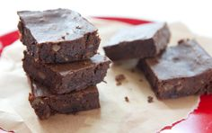Black Bean flourless brownies - love this recipe!  I make it in my blender rather than my food processor:)