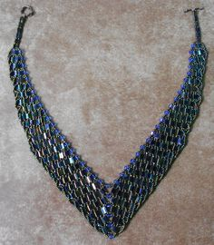 Photo 11-The finished Tila & Crystal Necklace