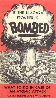 Vintage Advertisements, Vintage Ads, Vintage Posters, Vintage Stuff, Cold War Propaganda, Propaganda Art, Bomba Nuclear, History Magazine, Nuclear War