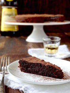 Sunken drunken chocolate cake {gluten free} - Plus Ate Six - Real Food Made Simple Gluten Free Cakes, Gluten Free Baking, Gluten Free Desserts, Gluten Free Recipes, Sin Gluten, Real Food Recipes, Dessert Recipes, Decadent Chocolate Cake, Chocolate Cakes