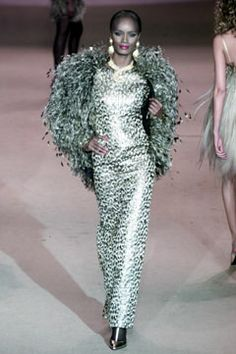 Saint Laurent   Spring 2002 Couture Collection   Style.com