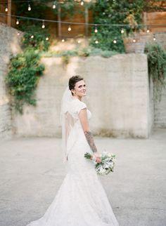 Photography: Em The Gem - emthegem.com  Read More: http://www.stylemepretty.com/2014/03/19/blush-pink-sand-rock-farm-wedding/