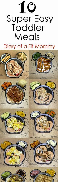 Food - Lebensmittel Diary of a Fit Mommy: 10 Easy Toddler Meals for Busy Mommies Easy Toddler Meals, Toddler Lunches, Kids Meals, Toddler Food, Toddler Menu, Toddler Recipes, Toddler Nutrition, Baby Meals, Baby Food Recipes