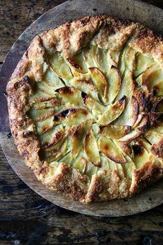 The pastry of this apple galette, which is impossibly flaky, slightly sweet, and completely delicious, can be made entirely in the food processor.
