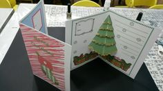 Make your own Pop Up Christmas Card!