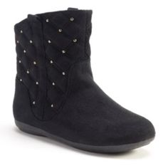 SONOMA life + style Girls' Quilted Ankle Boots