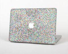 The Colorful Small Sprinkles Skin Set for the Apple MacBook Pro from DesignSkinz. Saved to MacBook Pro Macbook Pro Decal, Macbook Air Pro, Apple Macbook Pro, Macbook Stickers, Macbook Case, Apple Notebook, Mac Notebook, Coque Mac, New Ipad Pro