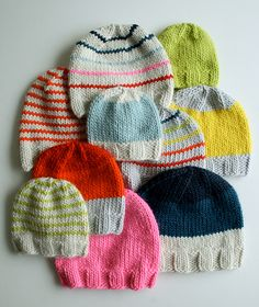 Hats for Everyone! free knitting pattern