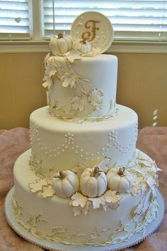30 Fall Wedding Cakes That WOW