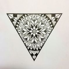 Find images and videos on We Heart It - the app to get lost in what you love. Dreieckiges Tattoos, Arrow Tattoos, Ankle Tattoos, Tatoos, Triangle Tattoo Design, Triangle Tattoos, Geometric Triangle Tattoo, Pattern Wall, Ankle Tattoo Small