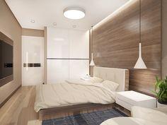 Wohnideen Schlafzimmer Für Kleine Räume, Einrichtung Aus Naturmaterialien,  Möbel Set In Braun Und Weiß