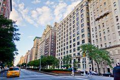 Park Avenue in the Upper East Side of #Manhattan. Photo: Asim Bharwani Find otu what else is in the neighborhood: http://www.nyhabitat.com/blog/2013/12/09/live-like-local-upper-east-side-manhattan/