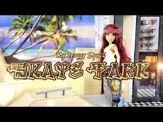 How to Make a Doll Skate Park & Skate Shop Doll Crafts - YouTube