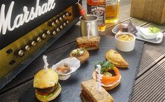 """""""Gentleman's Afternoon Tea"""" at the Sanctum Hotel, Soho (London) is """"a heart-stoppingly unwholesome line-up of red meat, carbs and saturated fats topped off with high-octane booze and premium nicotine."""" (Daily Telegraph)"""