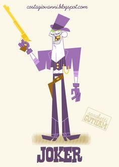 GIOVANNI COSTA ART: Spaghetti Gotham - Joker
